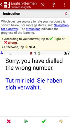 Answer foreign language german - MM3-TeachingMachine - Flashcards / Vocabulary Builder